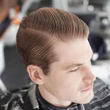 Slicked Back Hair Style mens hairstyles slicked back hair with a fade slicked back 8845 by wearticles.com