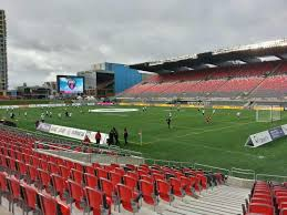 Td Place Stadium Section L Row 16 Seat 17 Ottawa Fury Vs