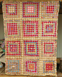 The 25+ best Handmade quilts for sale ideas on Pinterest ... & Unused ANTIQUE Vintage Postage Stamp Patchwork Feedsack Fabric Handmade  QUILTs For Sale, 1930 Homemade Cotton Adamdwight.com