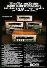 vintage sony receiver. vintage audio ad for sony receivers hi fi stereo (fb) receiver u
