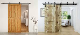 give your home that country look with our barn door sliding system