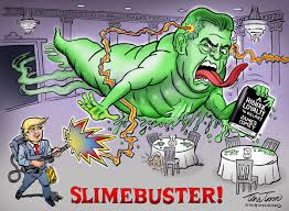Image result for female slime ball cartoon