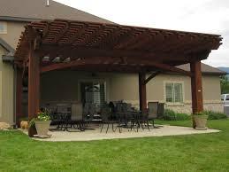 cantilever roof timber frame pergola kit