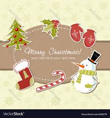free beautiful christmas cards beautiful christmas card royalty free vector image