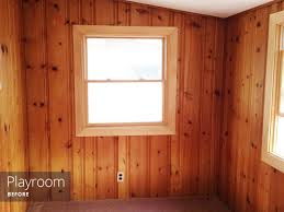 painting wood paneling knotty or nice