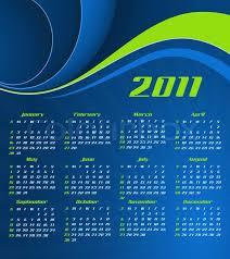 Calender Design Template Vector Abstract Calendar Design Stock Vector Colourbox