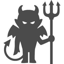 アイコン素材の悪魔