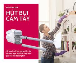 Máy hút bụi cầm tay 800W Mishio MK249 công nghệ lốc xoáy – Mishio Kachi  Việt Nam