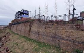 cornerstone retaining wall design