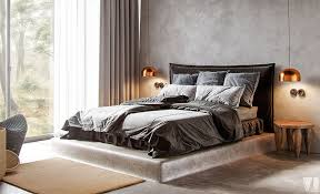 Design Idea - Bed Elevated On A Concrete Platform | CONTEMPORIST