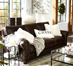 leather decorative pillows best dark brown couch ideas on leather couch with accent pillows for brown sofa plan decorative pillows for black leather couch
