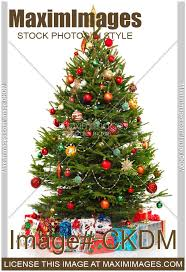 christmas trees decorated with presents. Simple Presents Stock Photo Of Decorated Christmas Tree With Presents Under It To Trees With Presents O