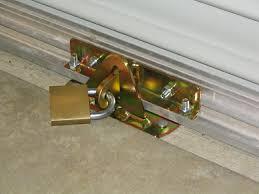 Backyards : Shop Secure Door Garage Brace Best Security Alarm ...