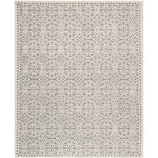 colossal cambridge rugs safavieh silver ivory 8 ft x 10 area rug cam123d