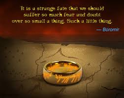 Lord Of The Rings Ring Quote Classy Memorable Quotes From 'The Lord Of The Rings' Trilogy