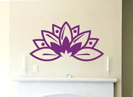lotus wall decal flower wall decals for nursery lotus flower wall decal