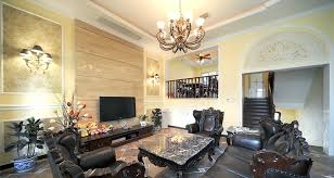 wood paneling traditional living room interior design ideas