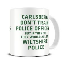 mg269 magoo police force policemen funny coffee mug police officer gifts wiltshire police amazon