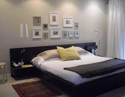 Bedroom Diy Headboard Wall Hanging Set Black Wooden ...