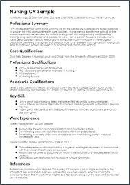 Graduate Nurse Resume Examples Nursing Samples New Grad