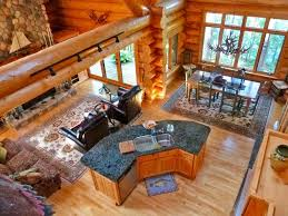 open floor plan log home act mesmerizing plans with
