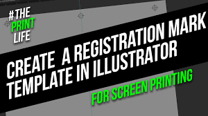 Illustrator For Screen Printers Design Tutorial Create Registration Marks For Silk Screen Printing In