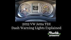 2016 vw jetta tdi dash warning lights