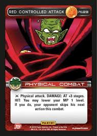 Light Up The Stage Foil Promo Dragon Ball Z Ccg Heroes Villains Rare Foil Red Controlled Attack R123