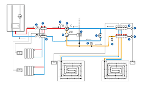 ufh wiring diagram wiring diagrams mashups co Wiring Diagram Underfloor Heating typical schematic showing 2 way high temp circuit to supply whr or towel rails wiring diagram underfloor heating