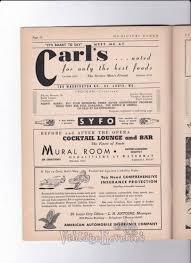 1943 Muny Program Ads Stl Stlouis Oldads 1940s