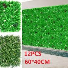 uk fake artificial grass plant wall