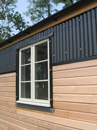 Small Picture black corrugated metal facade Google Search Corrugated