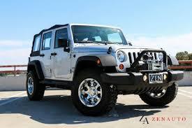 2012 jeep wrangler unlimited sport 4x4 jk custom lifted winch suv 4 door unlimited