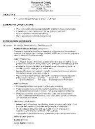 Gallery Of Combination Resume Sample Banquet Free Samples Examples