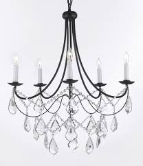 living breathtaking wrought iron chandelier with crystals 3 fabulous black crystal chandeliers 17 surprising swarovski trimmed
