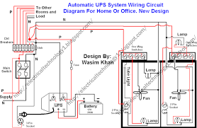ups panel wiring diagram circuit diagram symbols \u2022 120V Electrical Switch Wiring Diagrams electrical technology automatic ups system wiring wiring diagram rh electricalstechnology1 blogspot com how ups works diagram how ups works diagram