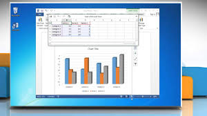 How To Create A Chart On Word How To Make A Column Vertical Bar Graph In Microsoft Word 2013