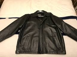 this is a very rare jacket you wont find one that s never been worn still smells like new leather comes from a pet and smoke free home