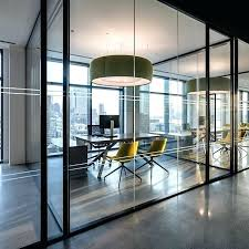 modern office space home design photos. Modern Office Design Ideas Glass Walled Private Space At In By Ted Home Photos W