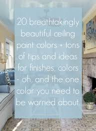 ceiling paint ideas20 Breathtakingly Gorgeous Ceiling Paint Colors and One That Isnt