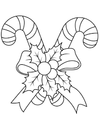 christmas candy cane coloring pages. Christmas Candy Canes Coloring Page In Cane Pages