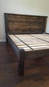 Platform Bed, Bed Frame, Four Post Platform Bed, Twin, Twin XL, Full ...