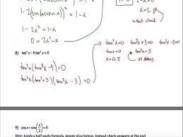 solving exponential equations worksheet com trig