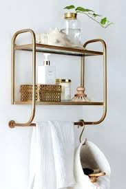modern bathroom shelving. Modern Bathroom Shelves This Pin Was Discovered By House Of Hipsters Eclectic Home Decor Interior Design Brass White Shelf Shelving