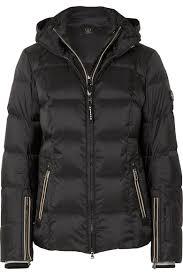 Bogner Ski Suit Size Chart Sanne D Hooded Quilted Down Ski Jacket