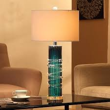 blue table lamps bedroom interesting blue led table lamp dreamy stereo surround glass lamps for living blue table lamps