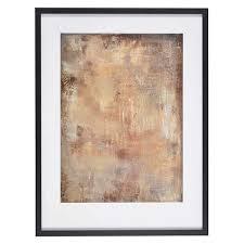 gold stone framed print