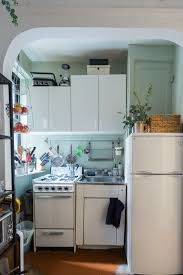 Small Kitchen Apartment Therapy Tamars Smart Stylish Studio Apartment Cook In Studios And Cooking