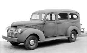 suburban chevrolet | 1941 Chevrolet Suburban photo | PanelTruck ...