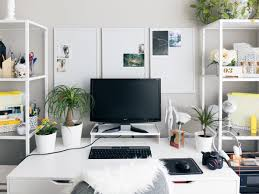 Office space in living room Bedroom White Home Office Real Simple 17 Surprising Home Office Ideas Real Simple
